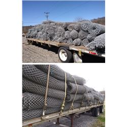 6 x 50FTX175  ROLLS OF CHAIN LINK FENCING X APPOX 175 ROLLS