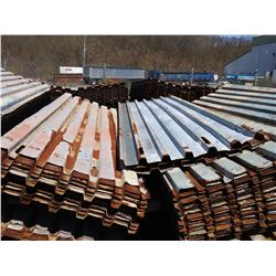 LRG QUANTITY OF STEEL DECKING 3FT X 11FT SHEETS X 150 SKIDS