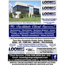 LOOMIS GROUP AUCTIONEERS, INC.