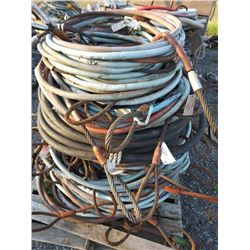"""SKID OF 5/8"""" CHOKER CABLES APPROXIMATELY 3' TO 6'"""