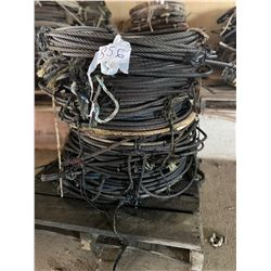 "IN WH / 1/2"" and 3/8"" wire cable"