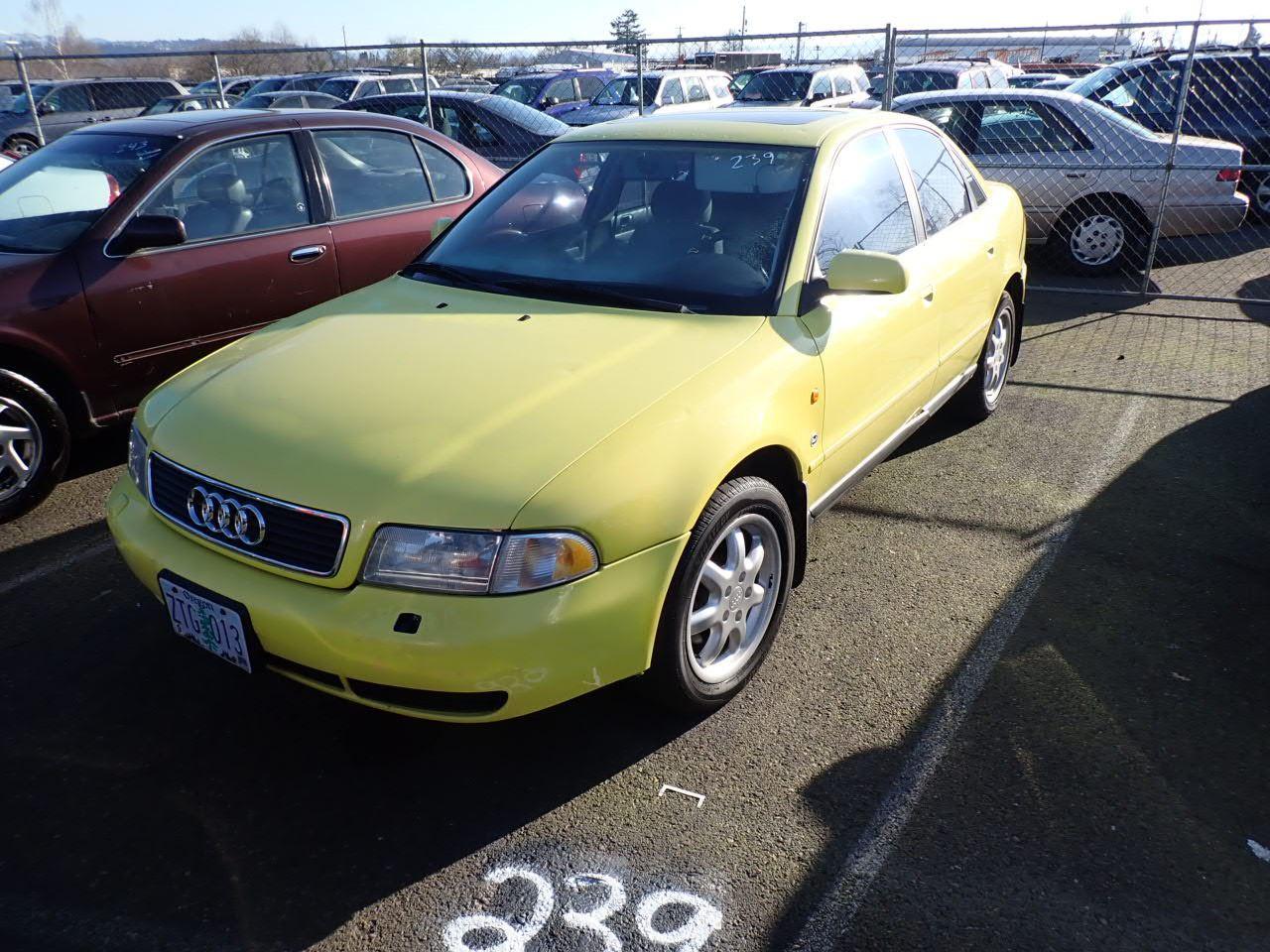 1997 Audi A4 - Speeds Auto Auctions