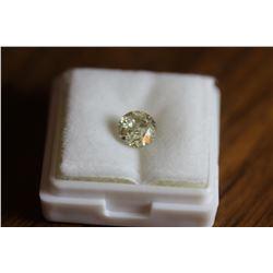 Natural Light Champagne Diamond 1.21 carats