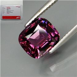 Natural Burma Purple Pink Spinel 3.63 Cts - Certified