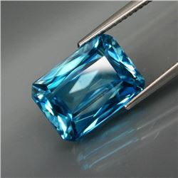 Natural HUGE Blue Cambodian Zircon 11.45 Cts  Untreated