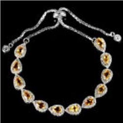 NATURAL AAA ORANGISH YELLOW Bracelet