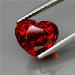 Natural Red Spessartite Garnet 4.60 Ct