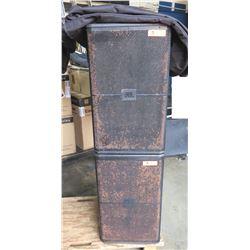 Qty 2 JBL SRX700 Series Professional Loudspeakers w/ Case