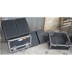 Qty 2 EAW Eastern Acoustic Works SM122e High Performance Loudspeakers in Case