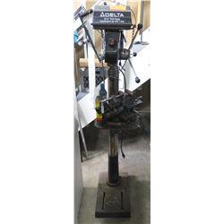 """Delta 17-900 12 Speed 16-1/2"""" Floor Drill Press"""