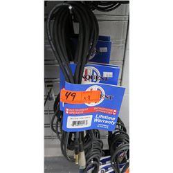 Qty 11 Conquest Sound BLCF 10 XLR-F/TRS-M Switchcraft XLR Female TRS Male Cable
