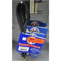 Qty 10 Conquest Sound SGC2 2' 24 Gauge Guitar/Instrument Cable