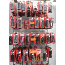 Multiple Misc Size Hose Technology Y Cables, Adapters, Couplers, Stereo Breakouts, etc