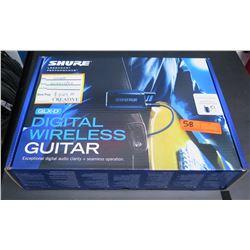 New in Box SHURE GLXD Digital Wireless Guitar System