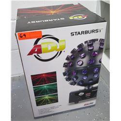 New in Box ADJ American Disc Jockey Starburst LED Stage Light Unit