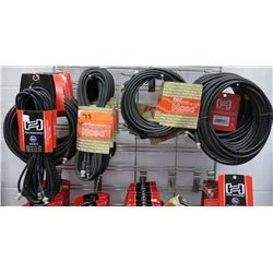 Multiple Misc Hose Technology Hosa Video Coaxial Cable BNC to BNC, BNC to RGA, etc