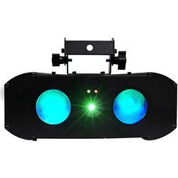 ADJ American DJ Galaxian Gem Pulse IR Dual RGBW Moonflower Laser Club Light