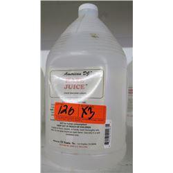 Qty 3 ADJ American DJ Haze Juice Haze Machine Liquid 128 Fluid Ounces