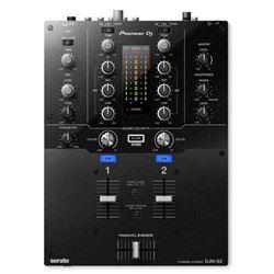 Pioneer DJ DJM-S3 2 Channel DJ Mixer w/  Serato DJ + DVS-Compatible Sound Card