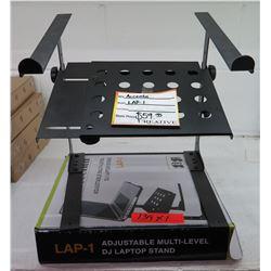 Accenta LAP-1 Adjustable Multi-Level DJ Laptop Stand