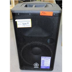 "Yamaha DSR112 Active 2-Way DSR 12"" Speaker"