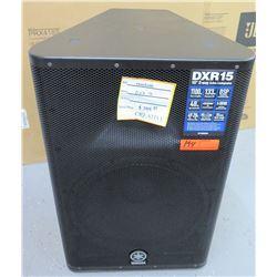 "Yamaha DXR15 15"" Active Performance Speaker"