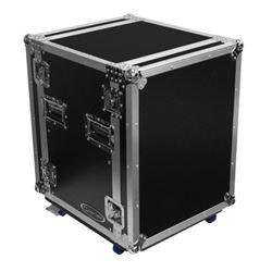 Odyssey USA FZ-AR14W 14 RU Pro Amplifier Rack Flight Case