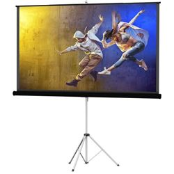 "DaLite Milestone 40131 Picture King 70""x70"" Matte White Tripod Screen"