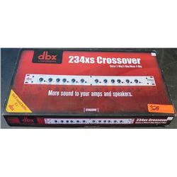 DBX by Harman 234XS Crossover Stereo 2-Way/3-Way/Mono 4-Way