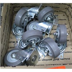 Box Multiple Misc Casters w/ Wheels