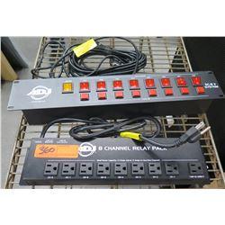 ADJ American DJ SC-8 II 8 Channel Relay Pack