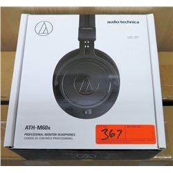 Audio Technics ATH-M60X Professional Monitor Headphones