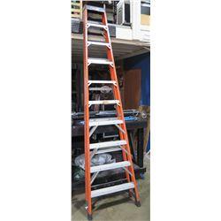 Husky Tall Red 10 Step Ladder