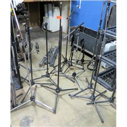 Multiple Misc Microphone Stands