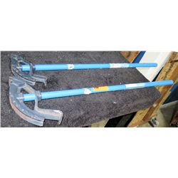 Qty 2 Pipe & Conduit Bender Tools
