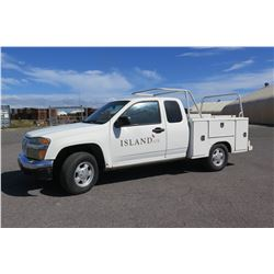 2007 Isuzu Service Truck (Runs & Drives - See Video), 153,279 Miles