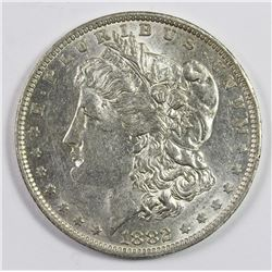 1882-O/S MORGAN DOLLAR (STRONG)