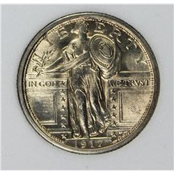 1917 TYPE 1 STANDLING LIBERTY HALF DOLLAR