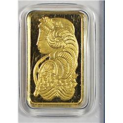 5 GRAM GOLD BAR .999