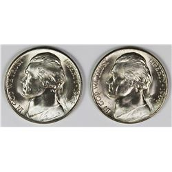 ROLL OF 40 1944-S SILVER NICKELS