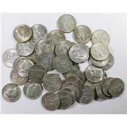 $20.50 FACE VALUE 40% SILVER KENNEDY HALVES