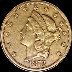1872-CC $20.00 GOLD LIBERTY