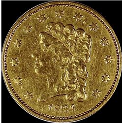 1834 $2.50 GOLD CLASSIC HEAD