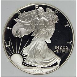 1995-W SILVER EAGLE