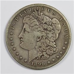 1896-S MORGAN DOLLAR