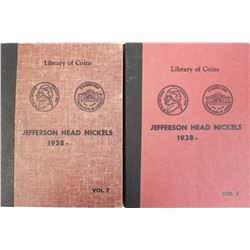 (2) COMPLETE JEFFERSON NICKEL SETS