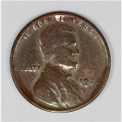 "1922 NO ""D"" LINCOLN CENT"