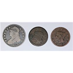 (3) COIN LOT