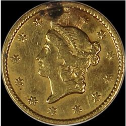 1853 GOLD DOLLAR