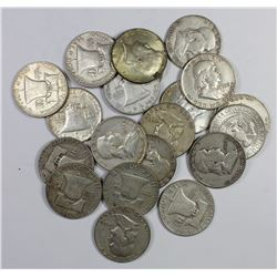 90% AND 40% SILVER HALF DOLLARS